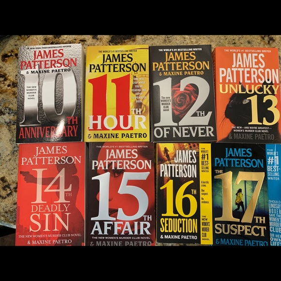 Other - James Patterson books